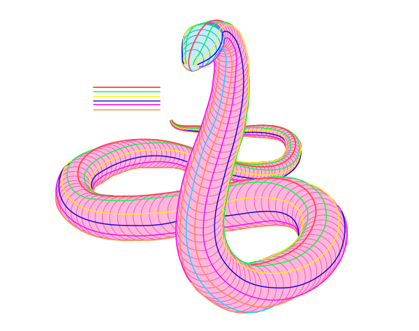 full upright snake body