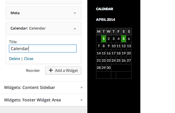 Live Widget and Header Previews in wordpress 3.9