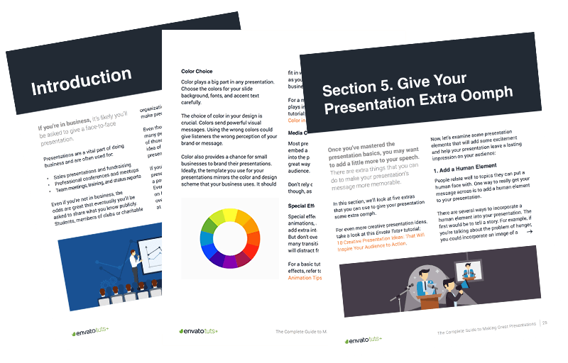 Presentation eBook Pages