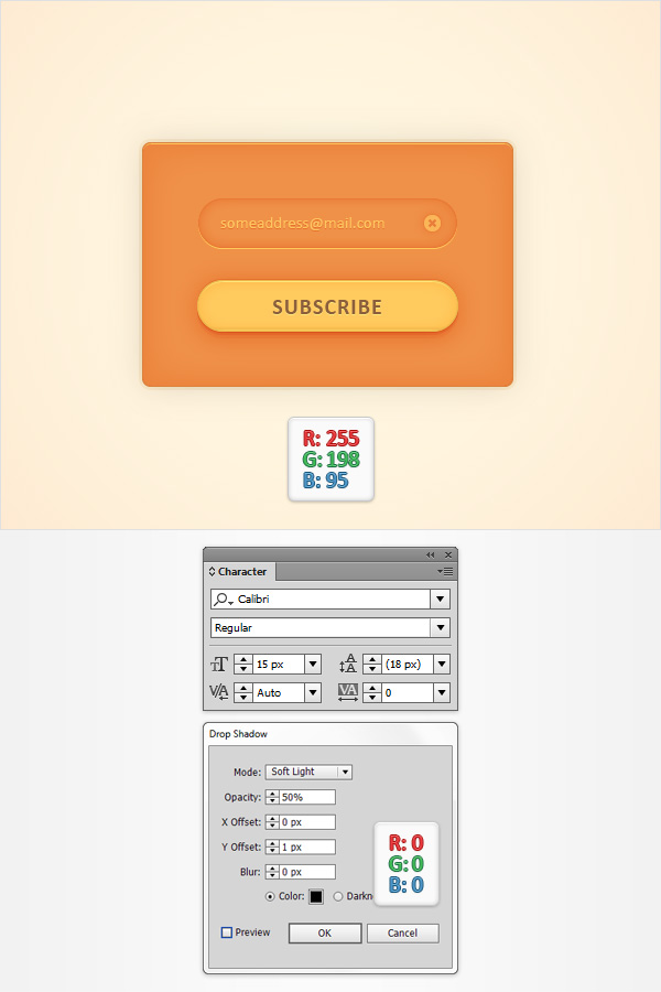 Subscription Web Element