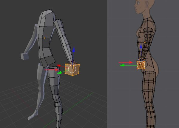 Blender Female Character Modeling Tutorial : Step