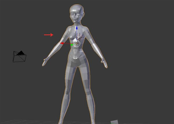 Female Character Modeling In Blender Part 4 : Advertisement