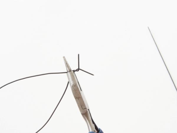 Tự chế chụp đèn hoa tuylip từ vải sợi - 4