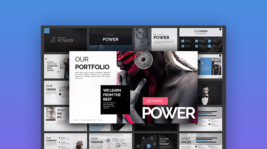 Power Custom Keynote Templates With Creative Styles