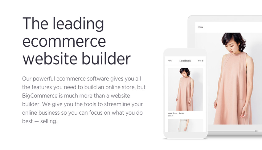 Should you use BigCommerce to make your onilne store