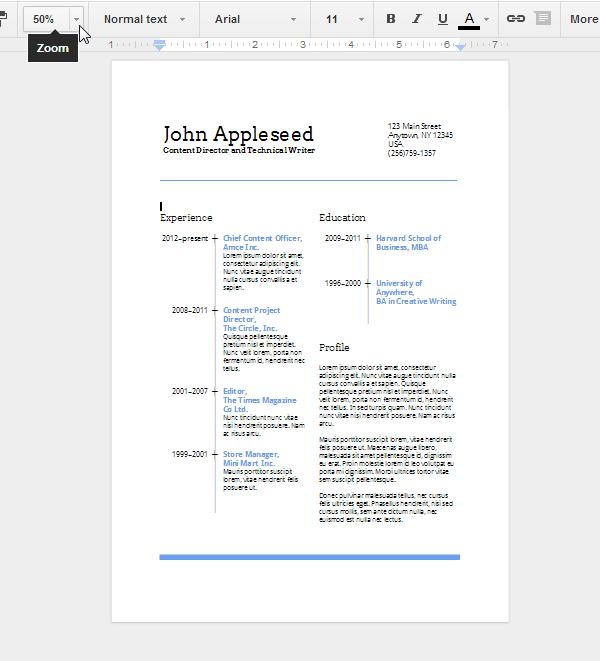 resume for google drive envato tuts computer skills envato tuts computer skills resume for google drive