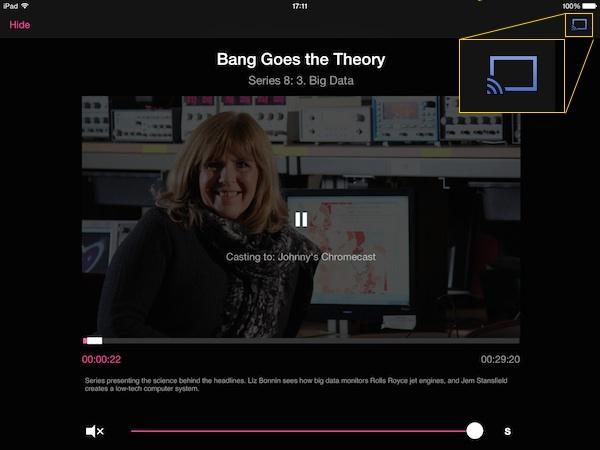 how to watch bbc iplayer on chromecast
