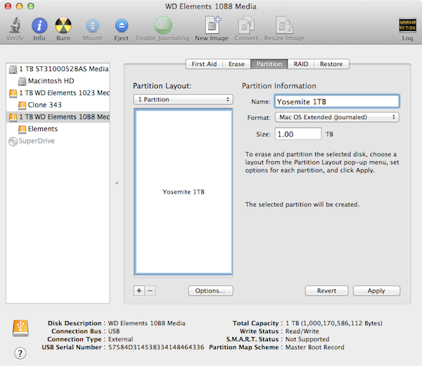 How To Install OS X 10.10 Yosemite On An External Drive