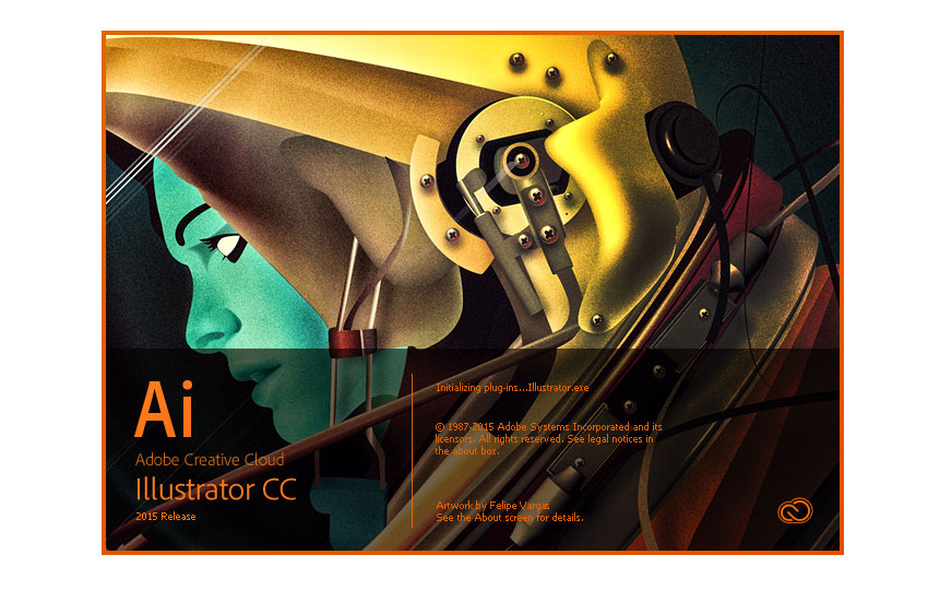2015 Adobe Illustrator Splash