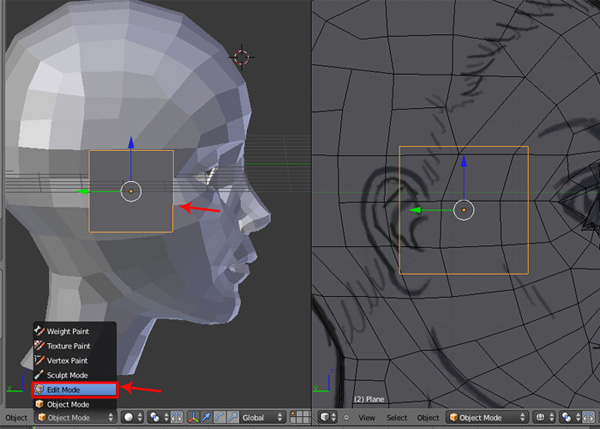 Female Character Modeling In Blender Part 2 : Step