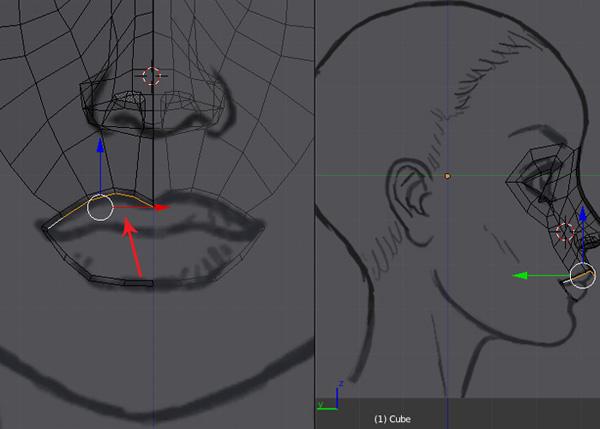 Blender 2 64 Character Modeling Tutorial Part 2 : Step