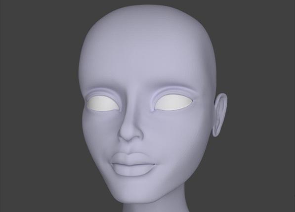 Female Character Modeling In Blender : Advertisement