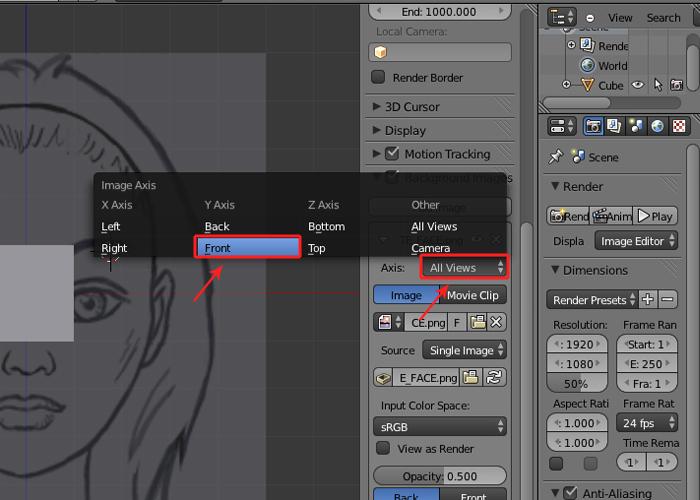 Female Character Modeling In Blender Part 7 : Step
