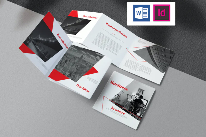Business Brochure for Word