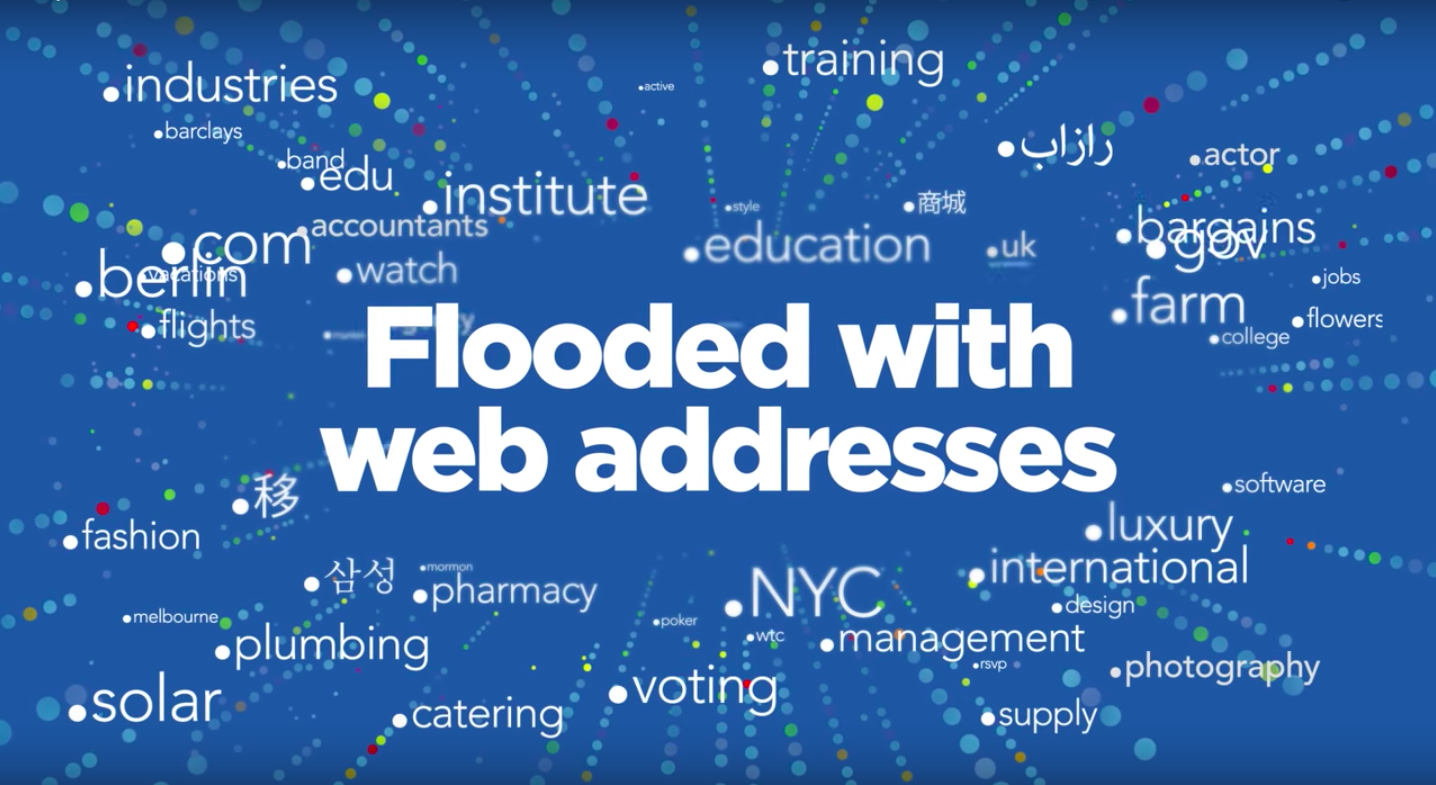 Flooded With Web Addresses