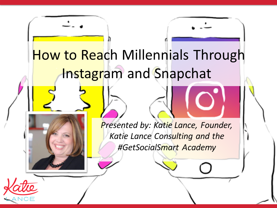 How To Reach Millennials Through Instagram And Snapchat