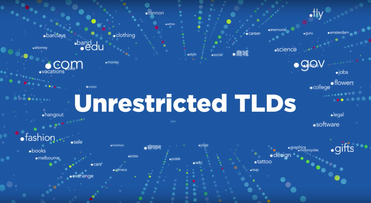 Unrestricted TLDs