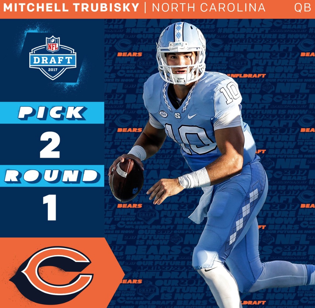 on sale 9e52b 09201 Welcome To Chicago, Mitchell Trubisky - Barstool Sports