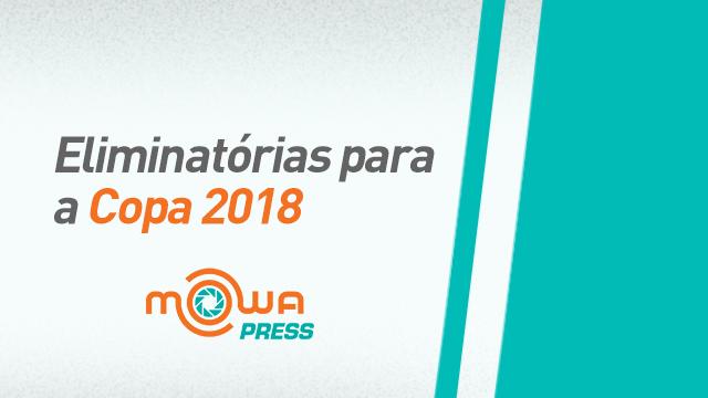 Eliminatórias para a Copa 2018 - Montevidéu, Uruguai/ São Paulo, Brasil