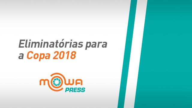 Eliminatórias para a Copa 2018 - La Paz, Bolivia/ São Paulo, Brasil