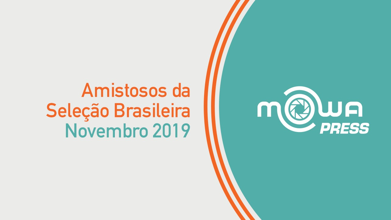 Amistosos da Seleção Brasileira - novembro 2019