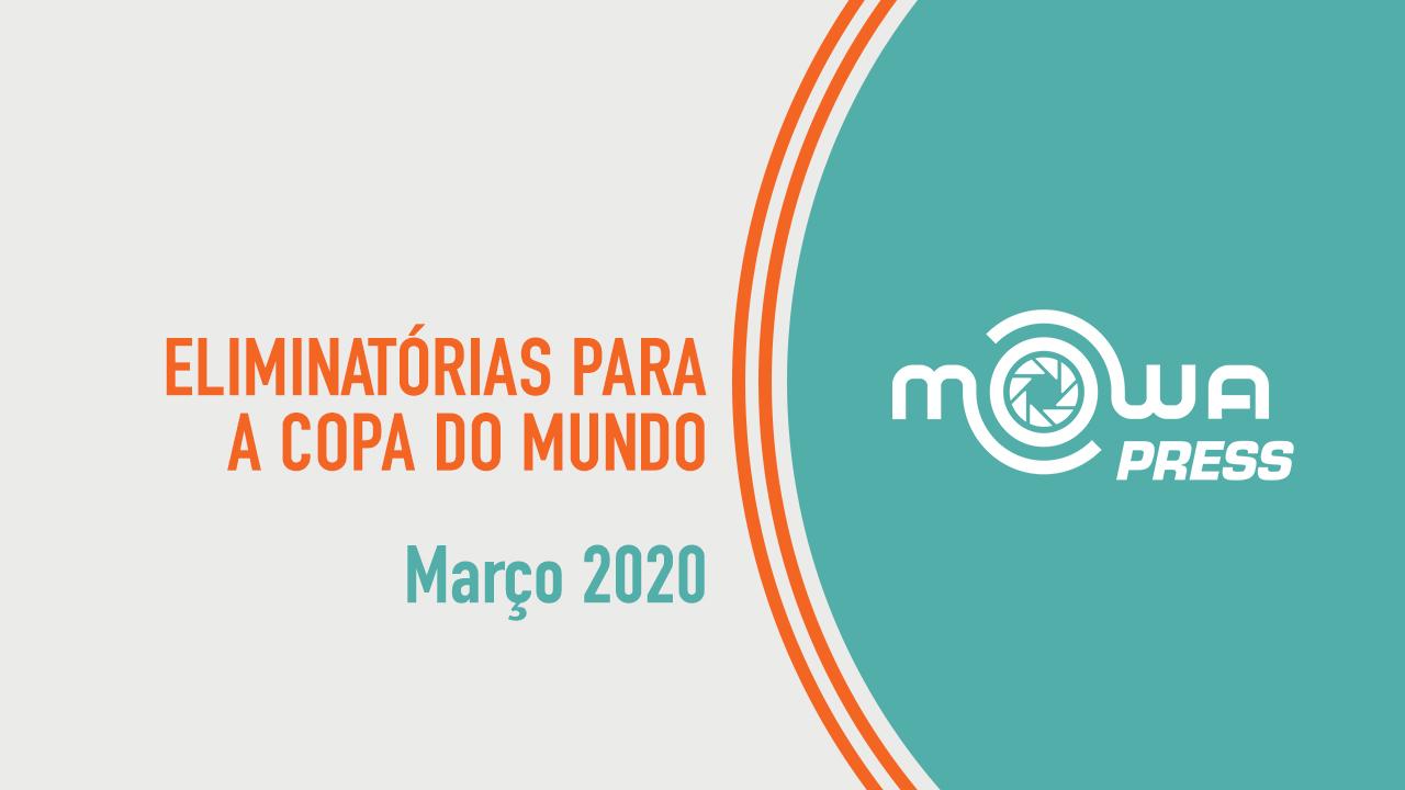Eliminatórias para a Copa do Mundo - março 2020
