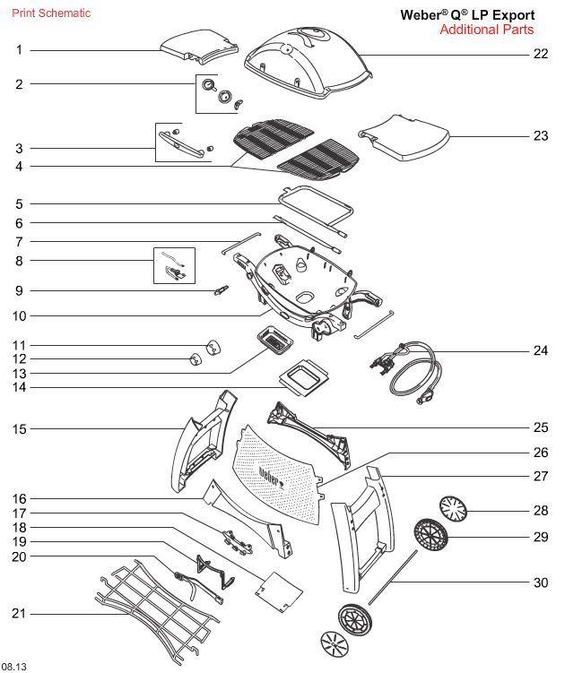 Lækker MANUALER | Weber Grill CE-88
