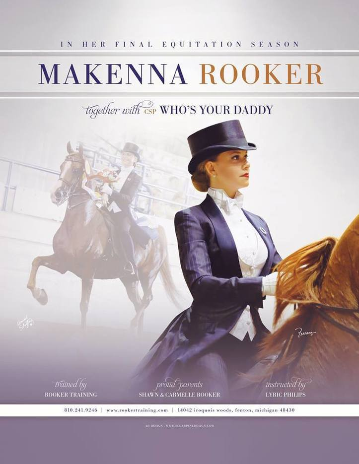 Magazine Ads :: Rooker Training Stable