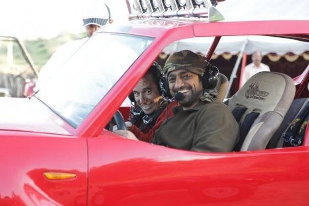Scott & Sheikh Ammar