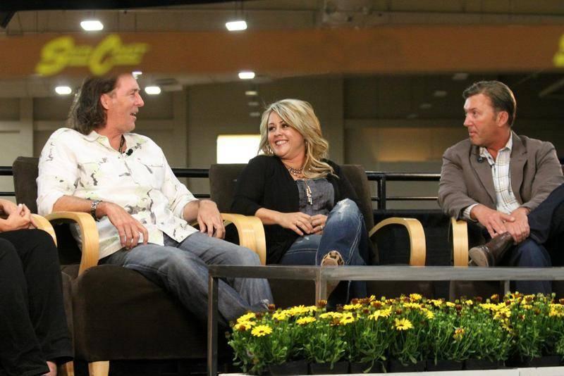 Stuart, April & David
