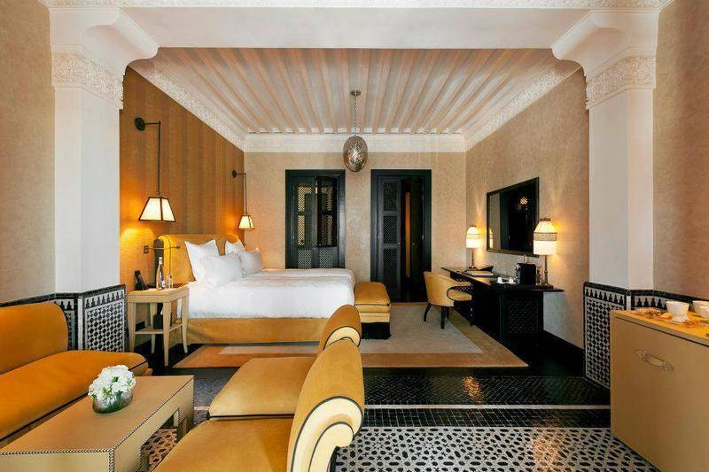 the rooms at Hotel Selman in Marrakech