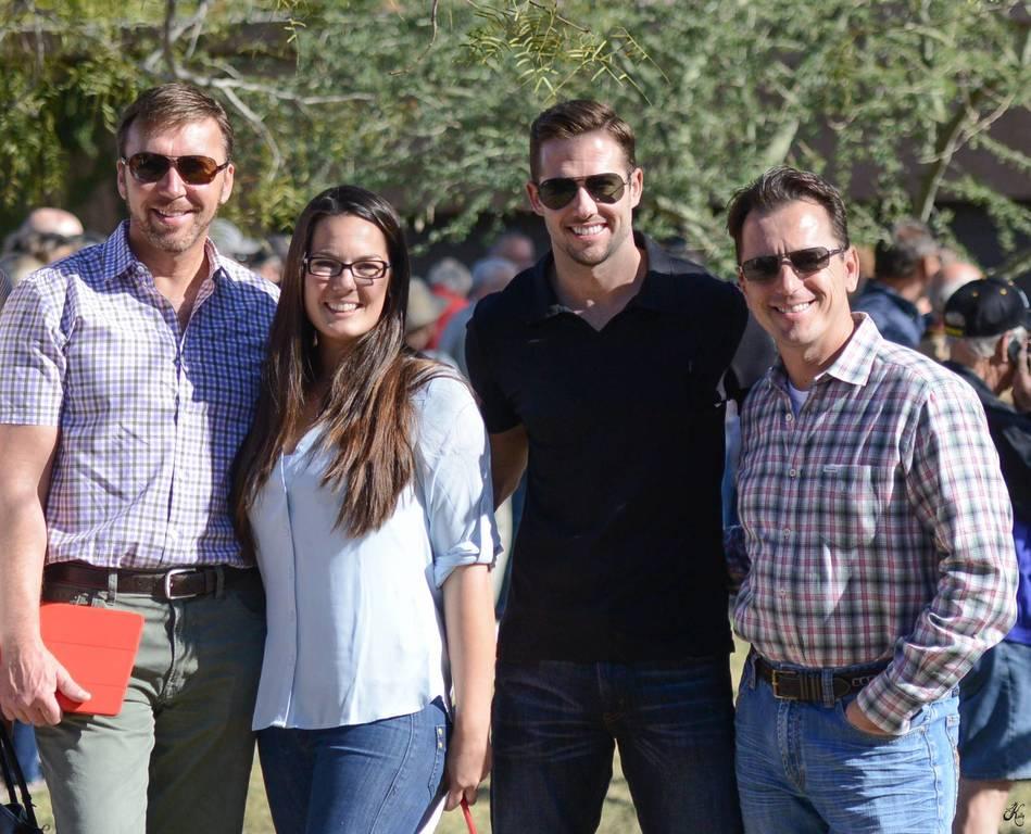 David, Ally, Casey & Scott