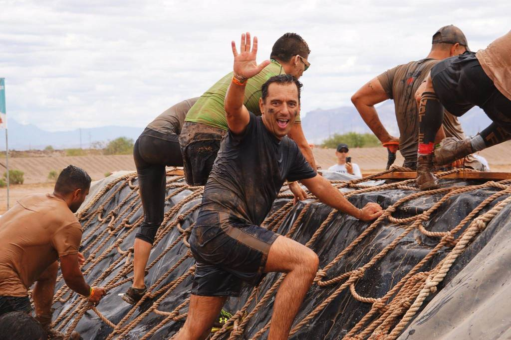 "Scott in the ""Tough Mudder"""
