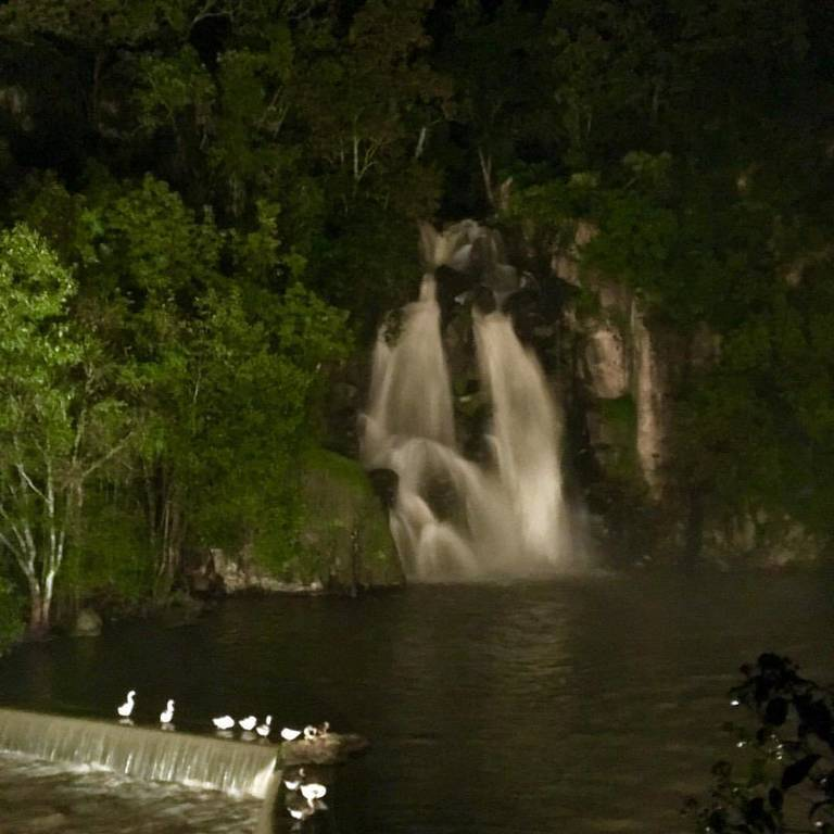 The most amazing dinner at 10pm by a spectacular waterfall that was only accessible by 4-wheel drive vehicles. A very special night with dear friends in the middle of Mexico