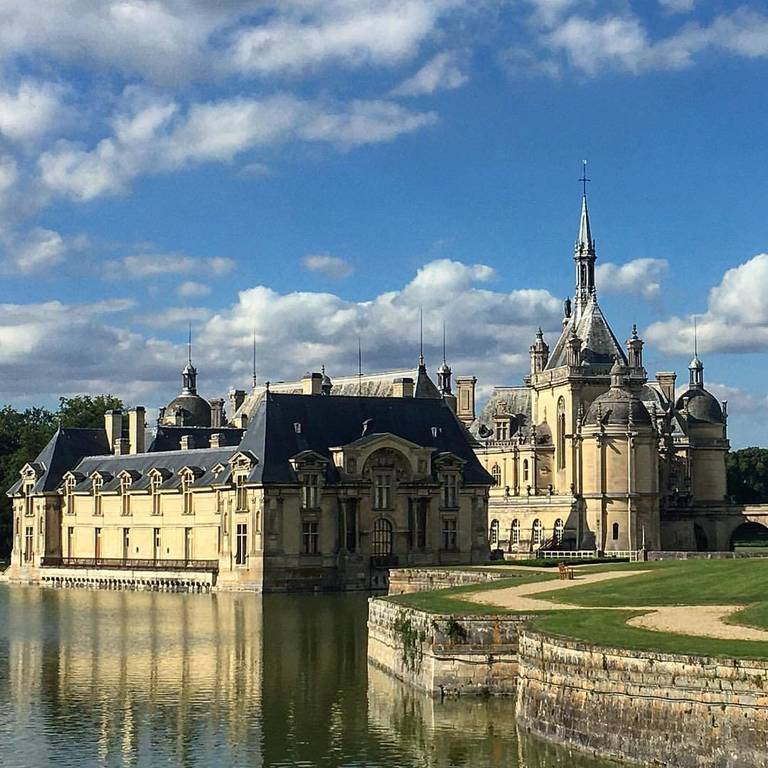 The amazing Chateau in Chantilly France