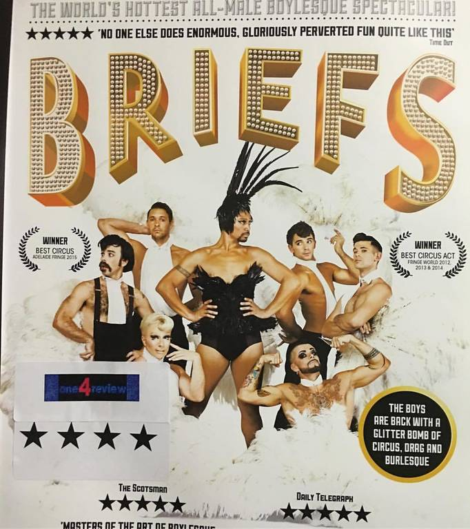 """Briefs"" the show is from Australia it was AmazeBalls !!"