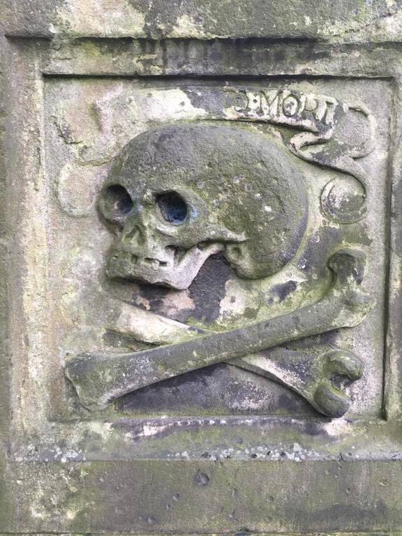 Cool visit to an old cemetery in Scotland - some dated 1644 Greyfriars Bobby