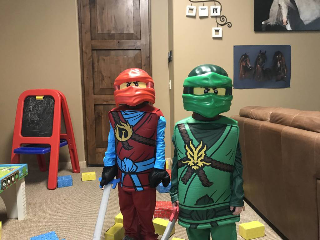 Chase & Geo aka Lego dudes!