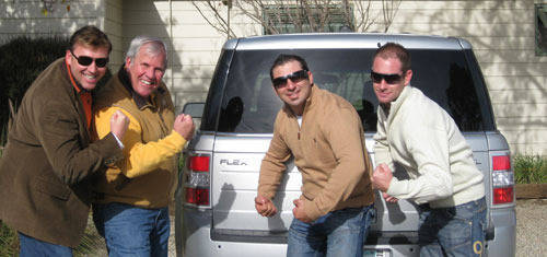 The new spokesmodels for the Ford Flex!