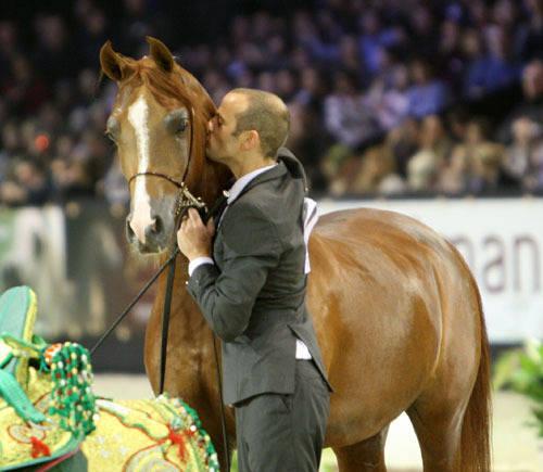 Abha Qatar & his handler Philip Lyons