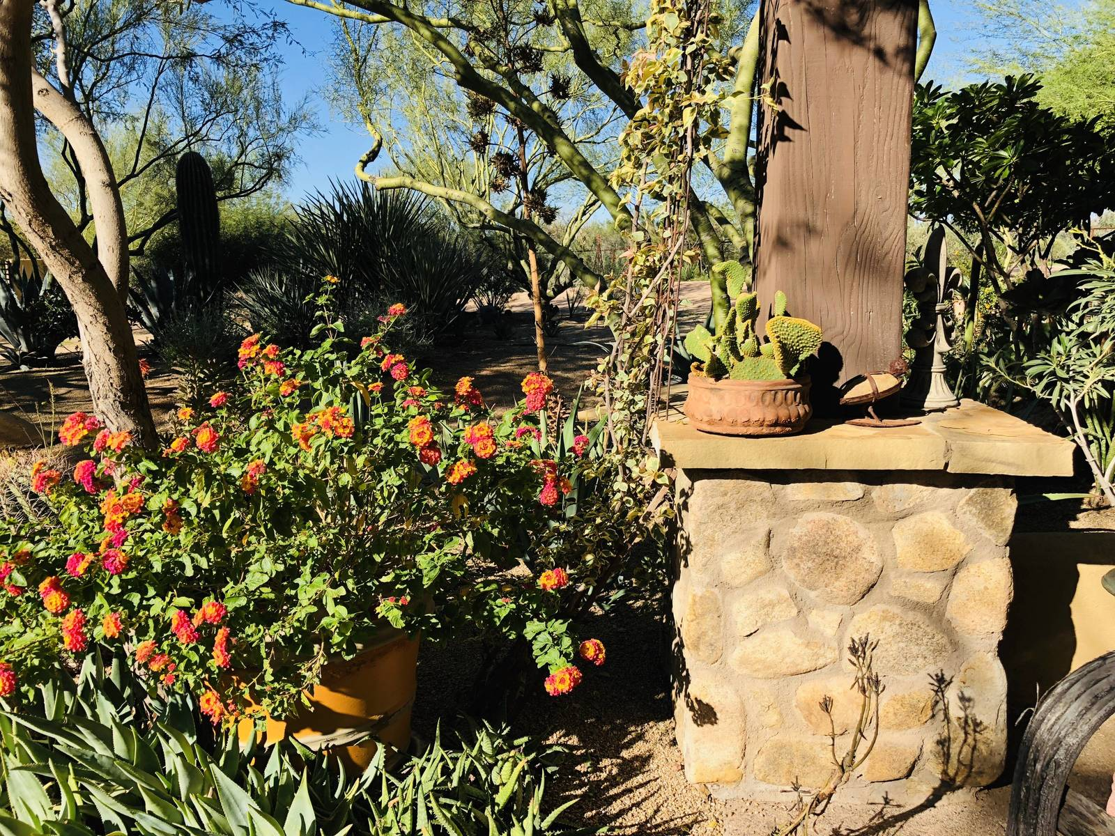 The incredible landscaping at Stonewall Farm