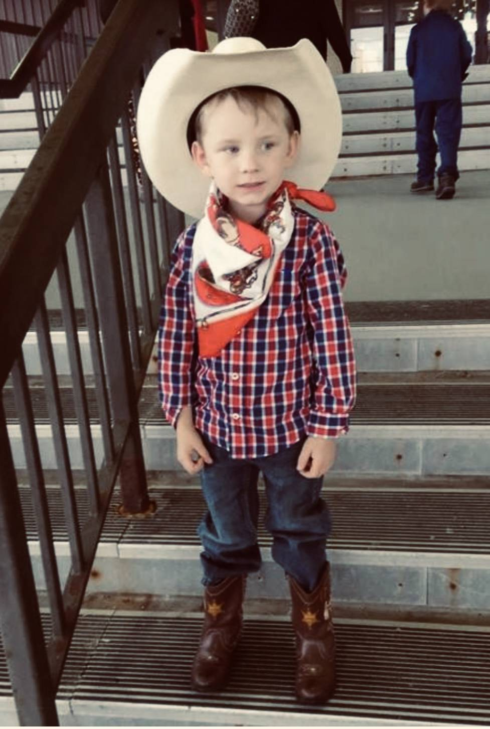 Hunter the cowboy - Halloween 2018