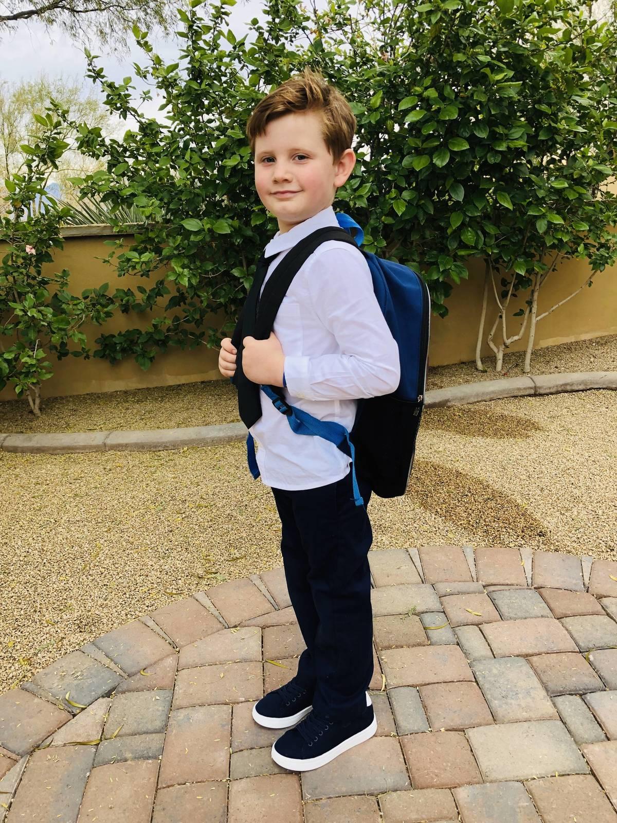 School boy!
