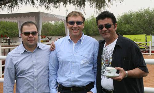 Tarek, David & Nick  Egypt, USA, Jordan