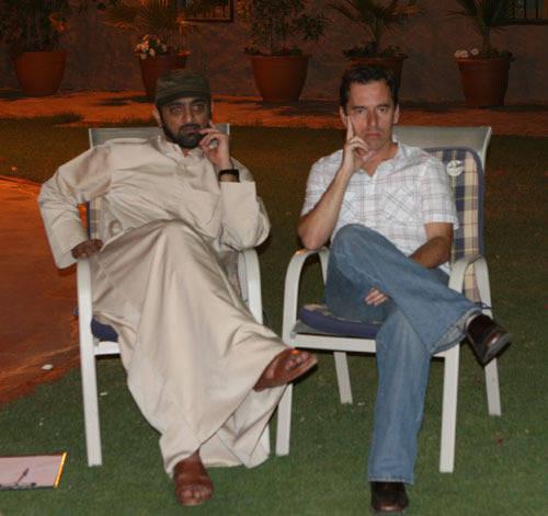 Shiekh Amaar and Scott