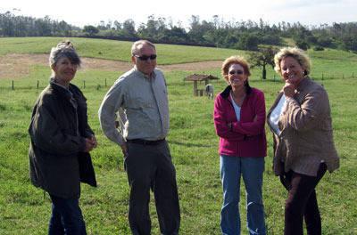 Lenita, Bob & Dixie North and Carol Steppe