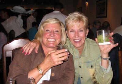 Carol Steepe and Cassandra Kipp