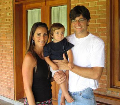 Fabio Diniz and Family at Haras Vanguarda