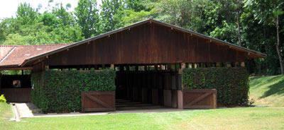 The beautiful barns at Haras Vanguarda