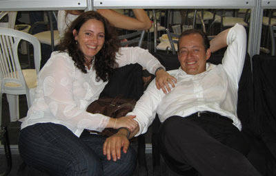 Rodolfo Guzzo and wife Maris